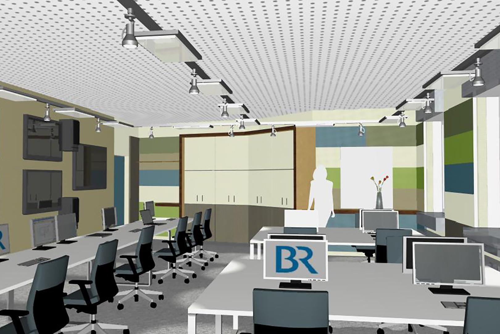 Umbau Regieräume Bayerischer Rundfunk: Fertigstellung 2011