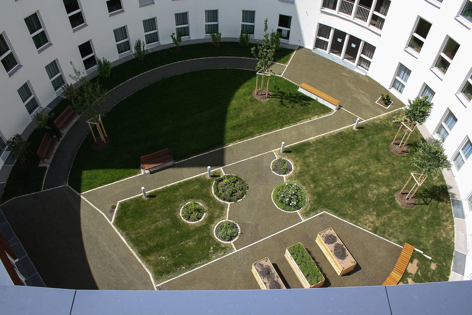 evangelisches pflegezentrum m nchen sendling batzer hartmann planungsgesellschaft mbh. Black Bedroom Furniture Sets. Home Design Ideas